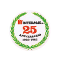 Logo of the Intermas' 25th anniversary