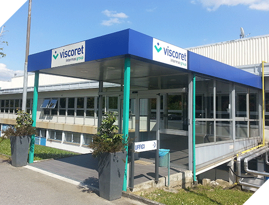 The Viscoret italian premises in 2010